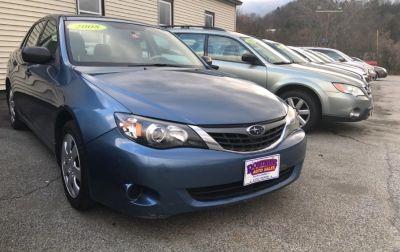 2008 Subaru Impreza 2.5i (Blue)