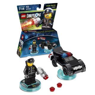 "LEGO DIMENSIONS FUN PACK #71213 ""BAD COP"" & ""POLICE CAR"""