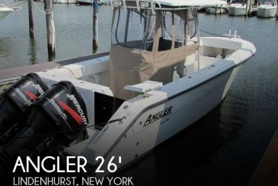 2007 Angler 260 Center Console