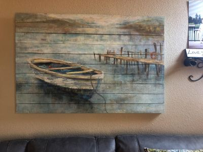 Gorgeous wood plank picture
