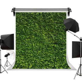 Green Leaves Photography Studio Backdrop/Prop, 7 L x 5 W by Kate