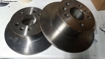 Nos front brake rotors 71-72