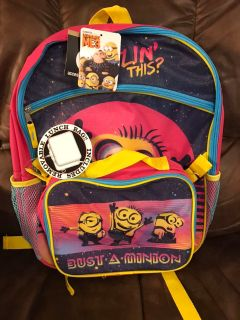 Brand new backpack & lunchbox