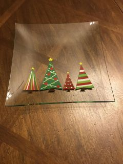 Cookie or serving platter plate