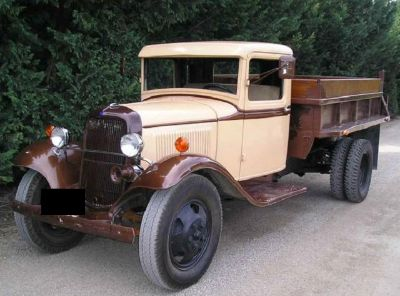 1934 Ford Dump Truck