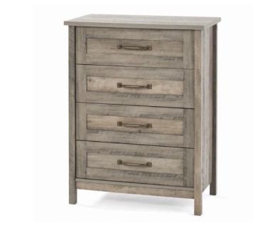 Farmhouse 4 drawer dresser