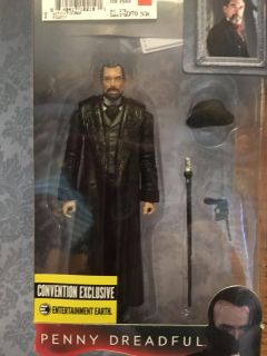 New in box. Collectible figurine. Penny Dreadful figure. Sir Malcolm Murray.