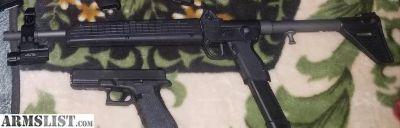 For Sale/Trade: Kel Tec sub2000 gen1 9mm glock 17 mag