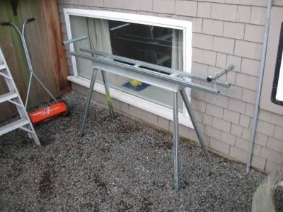 Saw Stand  Trailer platform etc.