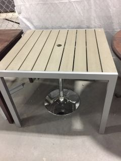 Outdoor Dining Table- Grey