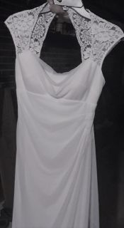 New Ivory Wedding Dress: Size 3-5