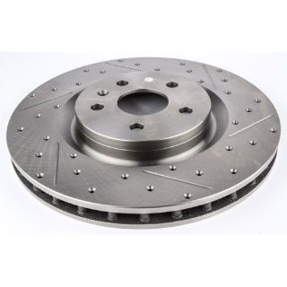 Buy JEGS Performance Products 632061 HP Drilled & Slotted Brake Rotor motorcycle in Delaware, Ohio, United States, for US $104.99
