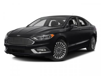 2018 Ford Fusion Titanium (White Platinum Metallic Tri-Coat)