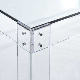 Minimalist Lucite Coffee Table