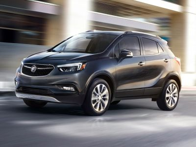 2018 Buick Encore Preferred II (Summit White)