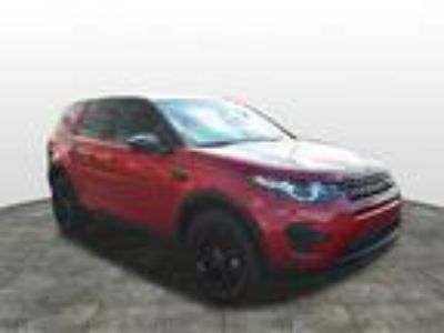 2016 Land Rover Discovery Red