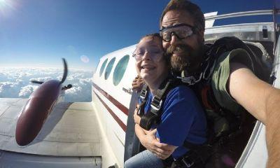 Two certificates for tandem skydives at SkydiveTheRock in Beloit WI