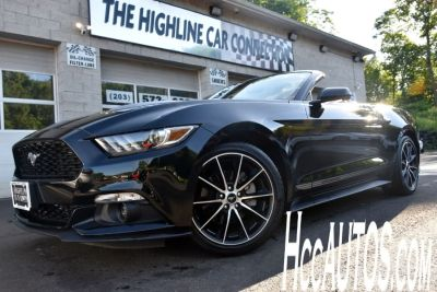 2016 Ford Mustang 2dr Conv EcoBoost Premium (Shadow Black)