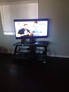 Samsung/ RCA home theater/ TV stand