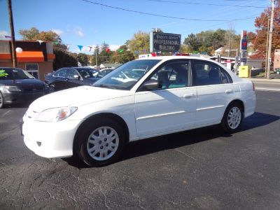 2005 Honda Civic LX (White)