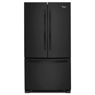 Whirlpool Black French Door Refrigerator WRF532SMBB Closeout
