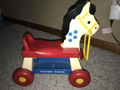 1976 Fisher Price Riding Horse