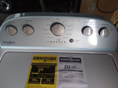 Brand new washer whirlpool never used