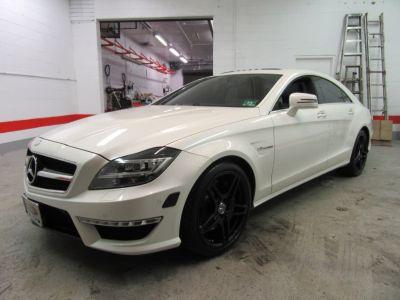 2012 Mercedes-Benz CLS-Class CLS63 AMG (White)