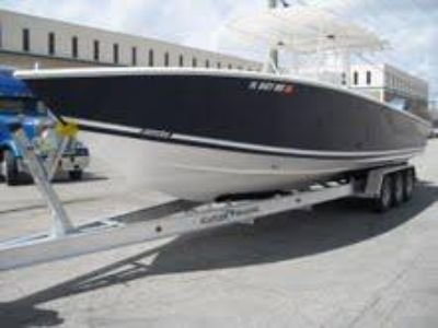 SEATECH CUSTOM BUILT ALUMINUM BOAT TRAILERS 17 TO 45 FEET  (Miami)