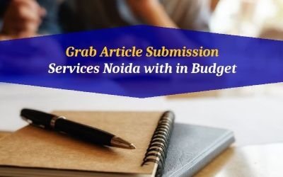 Grab Article Submission Services Noida with in Budget