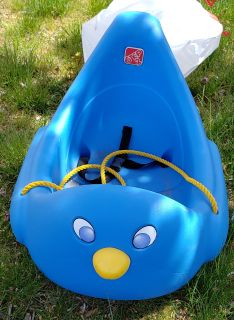 STEP 2 BLUE BIRD BABY/TODDLER SLED (G)
