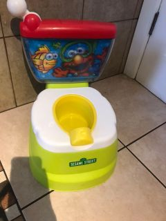 Sesame Street potty training toilet