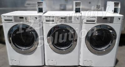 LG White Front Load Washer (Double Load) GCW1069QS Used
