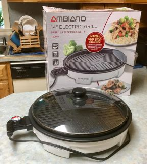 New 14 electric grill