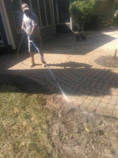 Landscaping, patios, power wash
