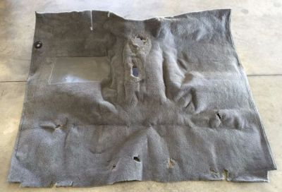Buy 1974 75 76 77 78 79 Ford F150 F250 Plush Cut Pile Carpet - Standard Cab 4x4 GREY motorcycle in Capac, Michigan, United States, for US $50.00