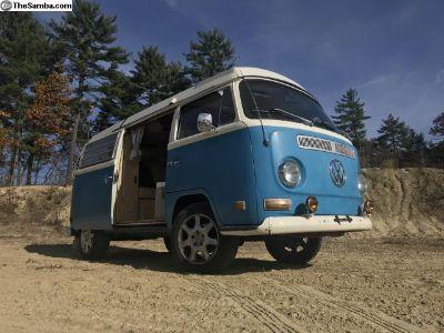1971 VW Bay Window Pop-Up Roof Camper For Sale