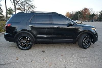 2011 Ford Explorer Sport Edition Tow Tone Leather