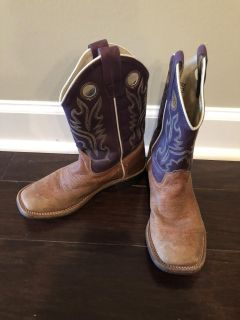 Old West Youth Cowboy Boots, size 3, $20