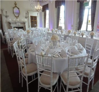 White Chiavari Chair at wholesale-foldingchairstables-discount.com