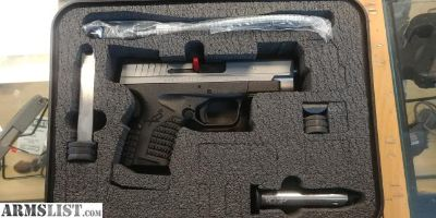 """For Sale: BRAND NEW SPRINGFIELD ARMORY MODEL XDS-45, 2- TONE, 4"""","""