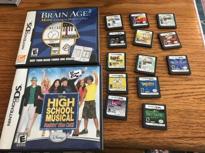 Lot of 15 ds games