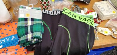 Old navy Adidas and American eagle