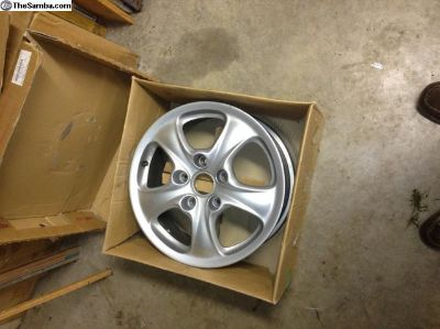 7 x 17 and 9 x 17 C4 porsche wheels