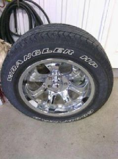 """$850 20"""" rims and tires (glyndon)"""