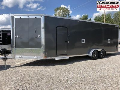 2019 Legend Manufacturing 7X29 Explorer Snowmobile Trailer..