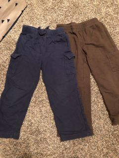 Jumpin Beans 4T brown and navy pants