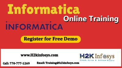 Informatica online Training, FREE life time access to the course & Job support.