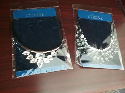 Brand New Crystal Statement Necklaces