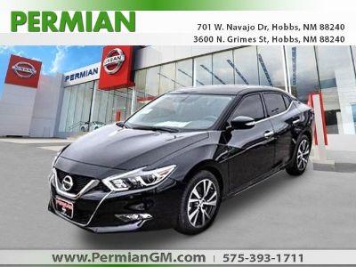 2018 Nissan Maxima 3.5 SV (super black)